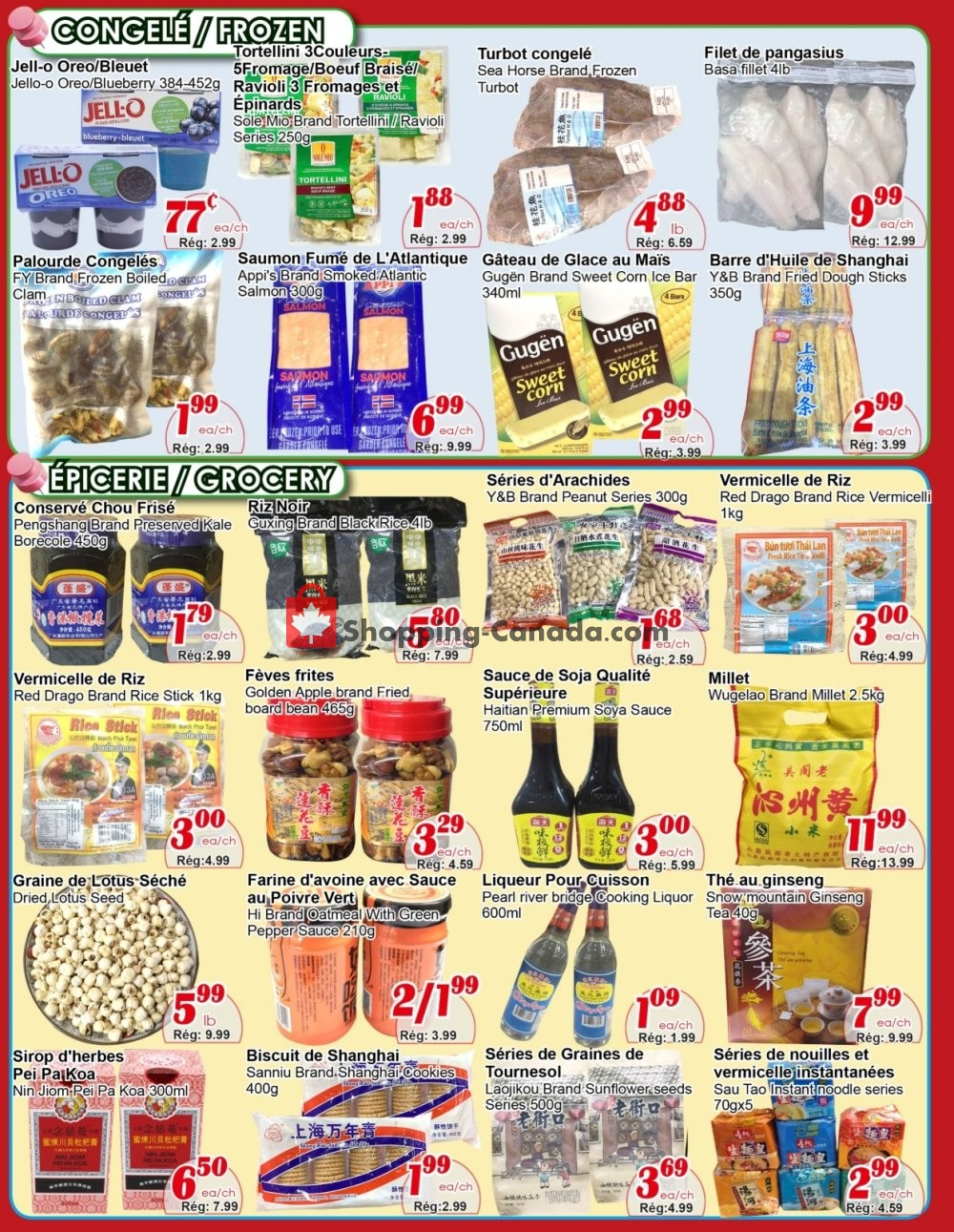 Flyer Marche C&T Canada - from Thursday September 5, 2019 to Wednesday September 11, 2019