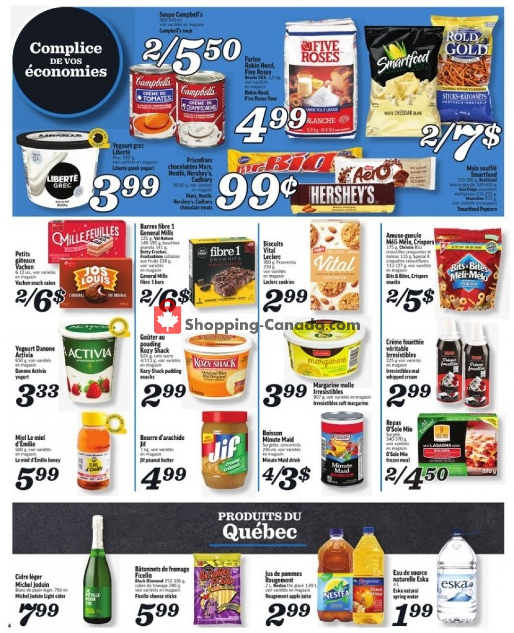 Flyer Marche Richelieu Canada - from Thursday January 16, 2020 to Wednesday January 22, 2020