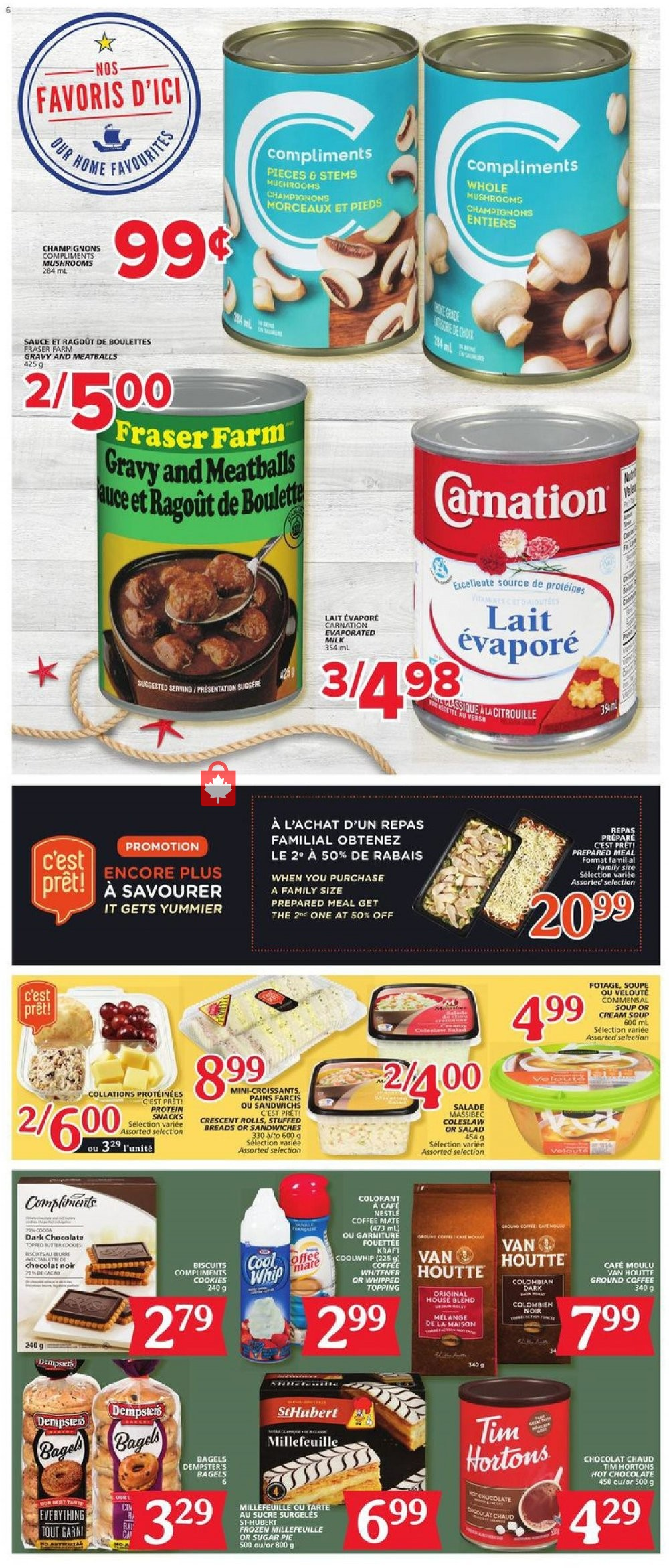 Flyer Marche Tradition Canada - from Thursday January 16, 2020 to Wednesday January 22, 2020