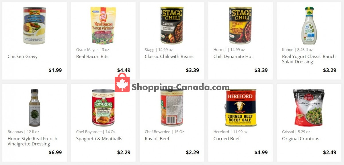 Flyer Marilu's Market Canada - from Friday September 3, 2021 to Thursday September 9, 2021