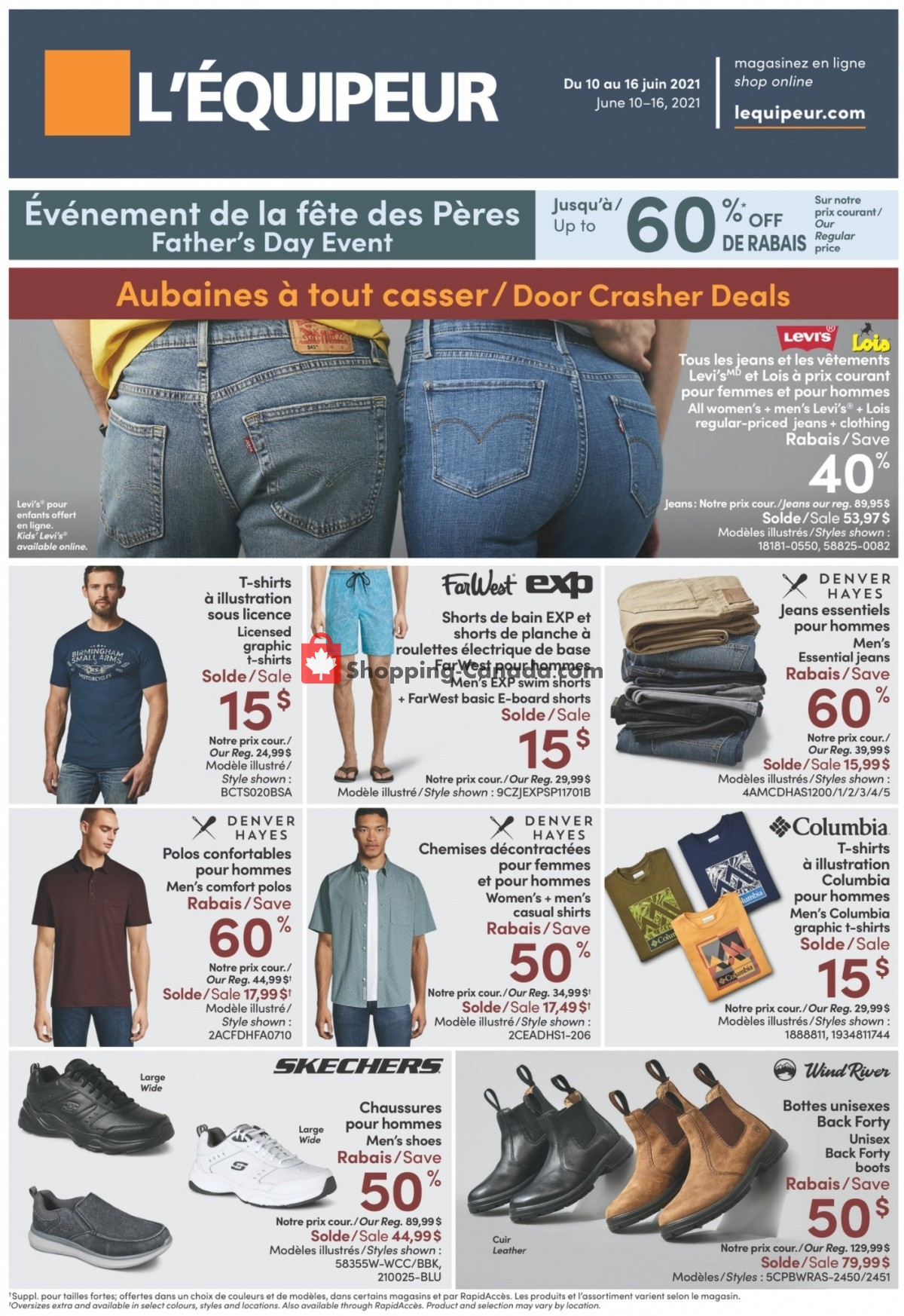 Flyer Mark's Work Wearhouse Canada - from Thursday June 10, 2021 to Wednesday June 16, 2021
