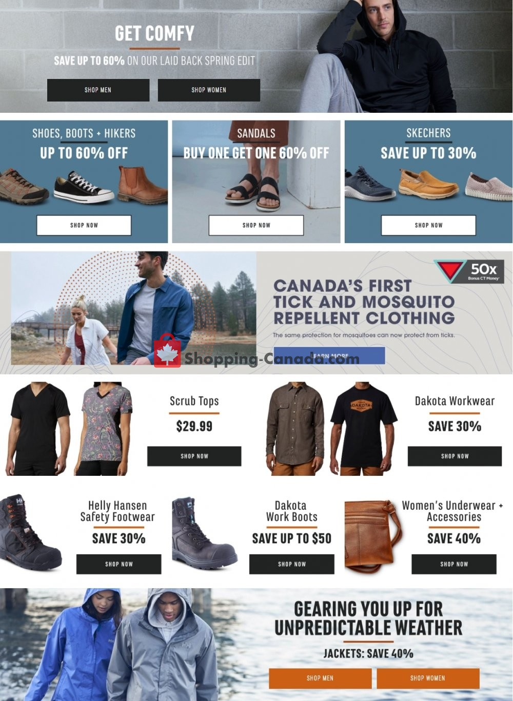 Flyer Mark's Work Wearhouse Canada - from Sunday April 26, 2020 to Saturday May 2, 2020