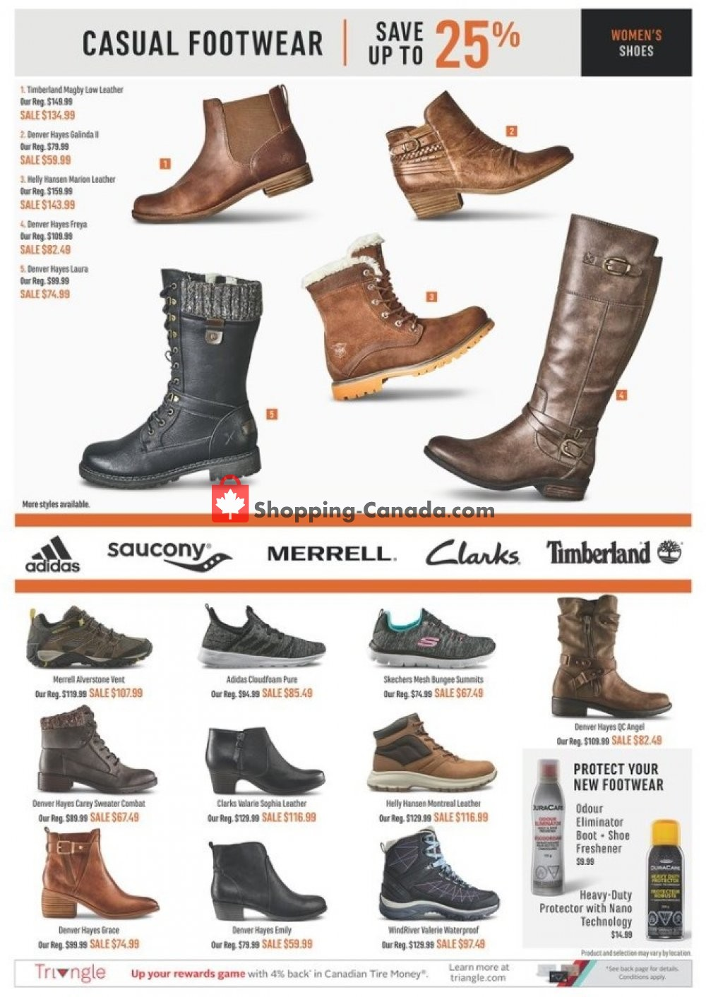 Flyer Mark's Work Wearhouse Canada - from Wednesday October 9, 2019 to Monday October 14, 2019