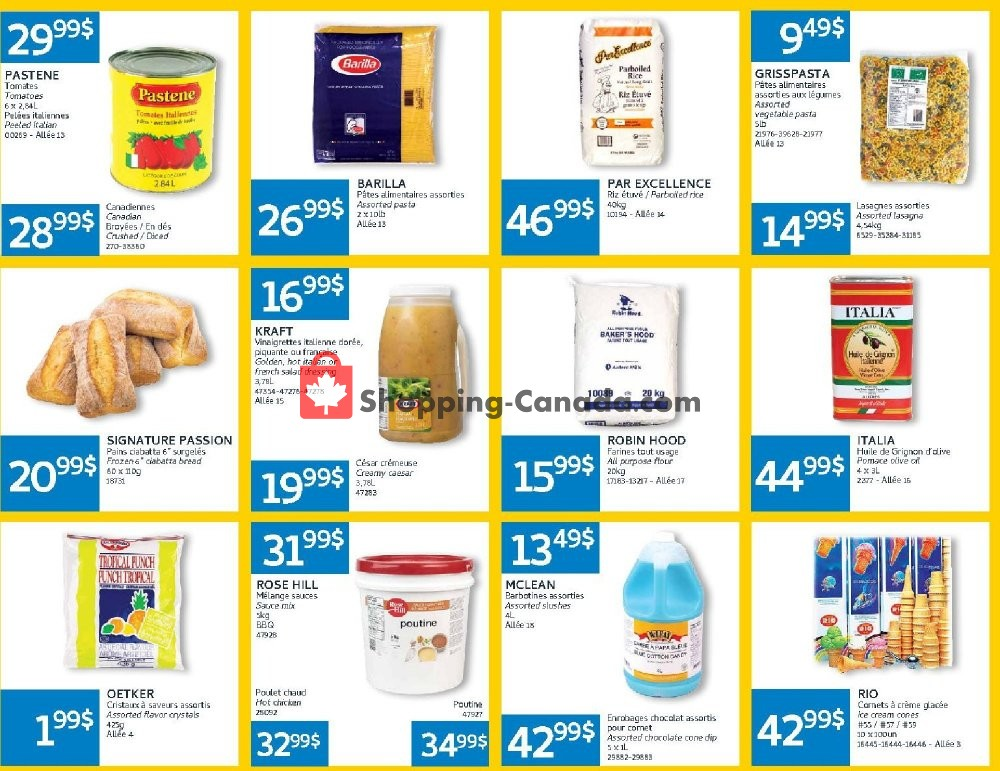 Flyer Mayrand Canada - from Monday July 8, 2019 to Sunday July 21, 2019