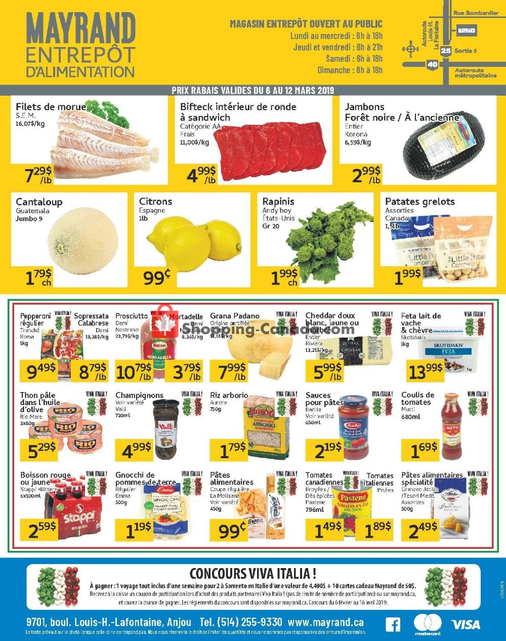 Flyer Mayrand Canada - from Wednesday March 6, 2019 to Tuesday March 12, 2019