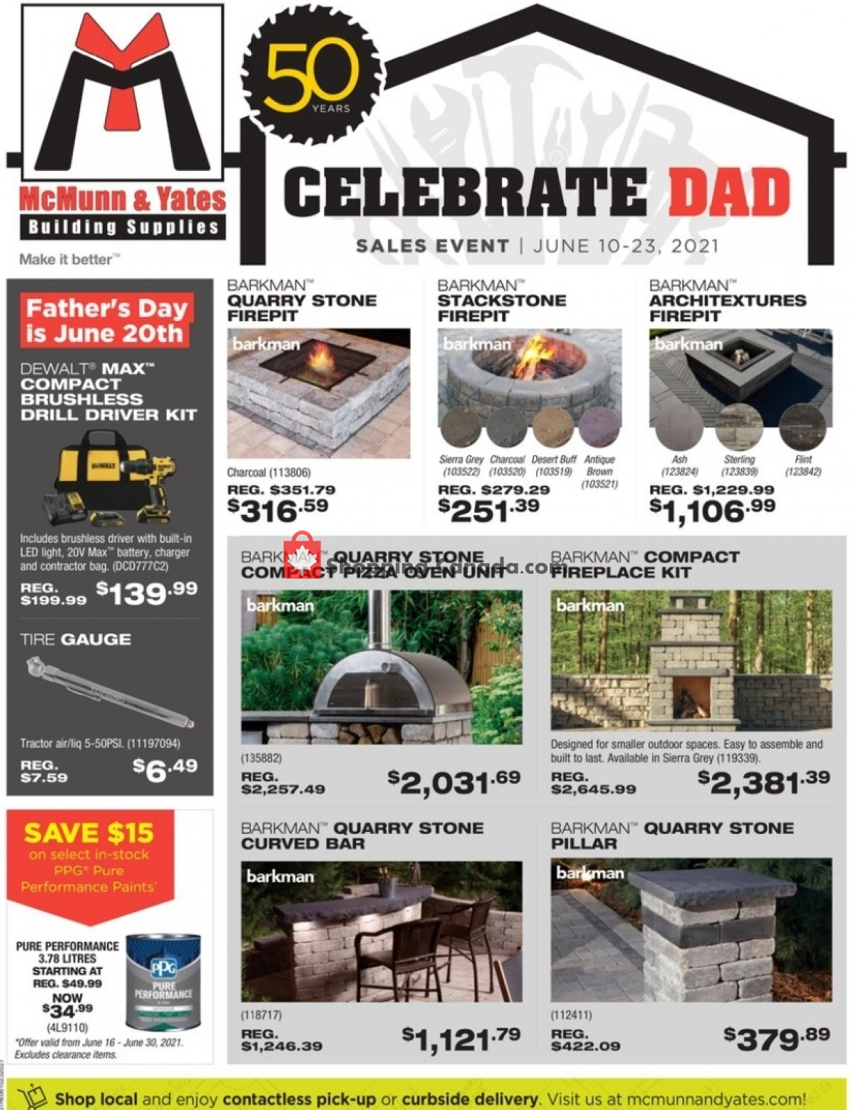 Flyer McMunn & Yates Canada - from Thursday June 10, 2021 to Wednesday June 23, 2021