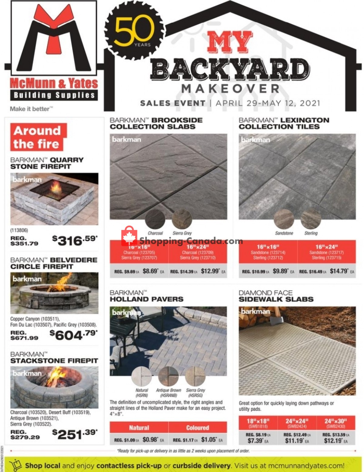 Flyer McMunn & Yates Canada - from Thursday April 29, 2021 to Wednesday May 12, 2021