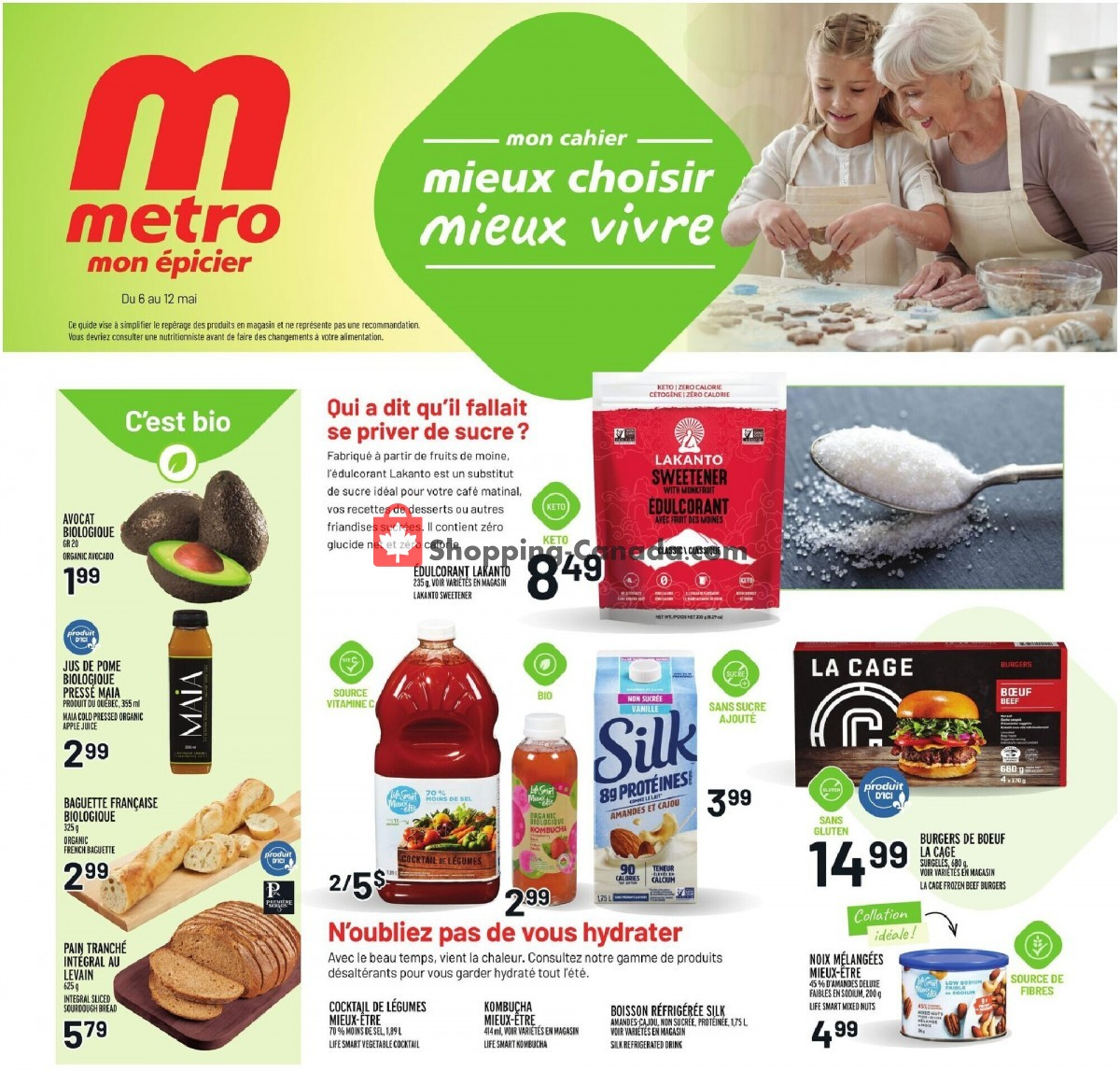 Flyer Metro Canada - from Thursday May 6, 2021 to Wednesday May 12, 2021