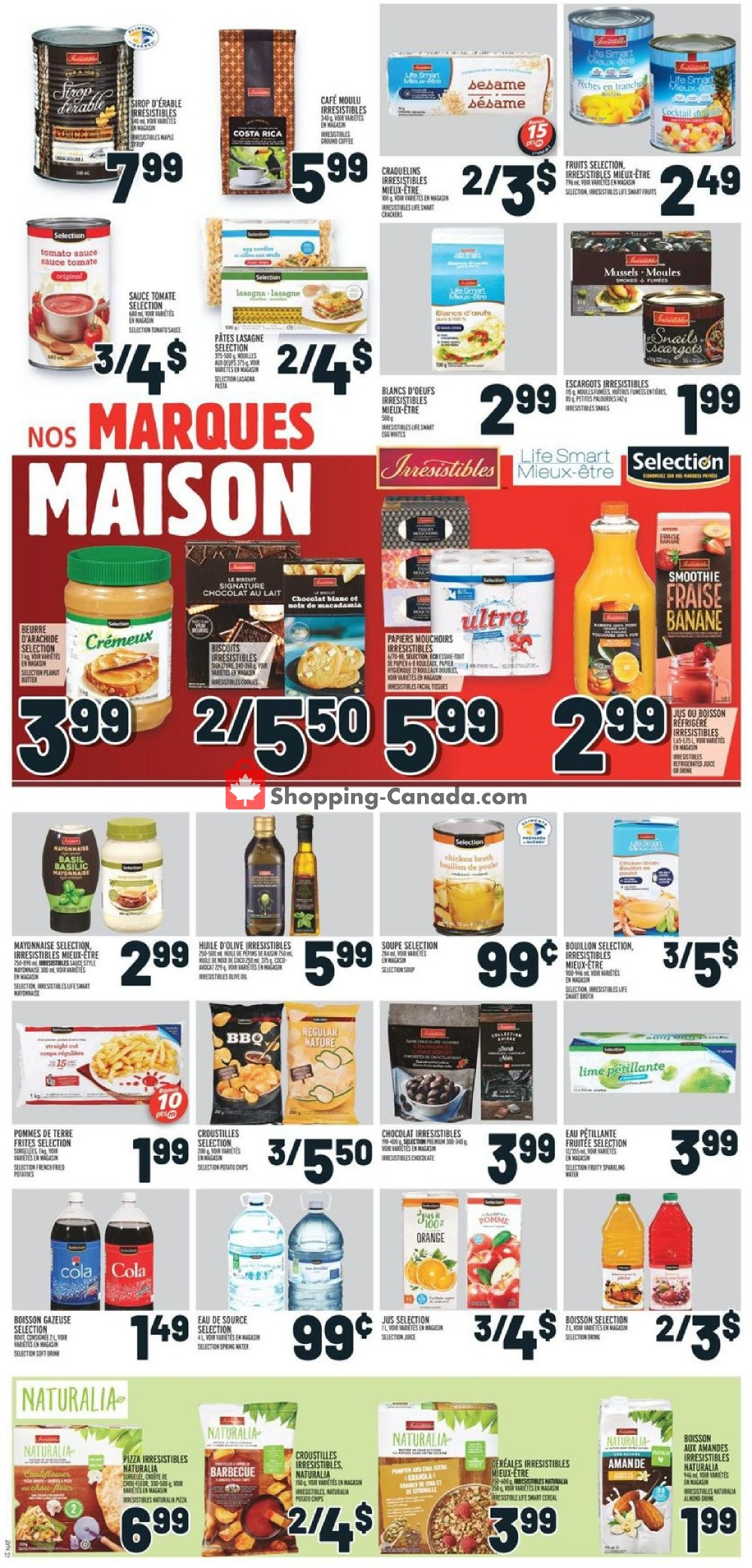 Flyer Metro Canada - from Thursday October 10, 2019 to Wednesday October 16, 2019