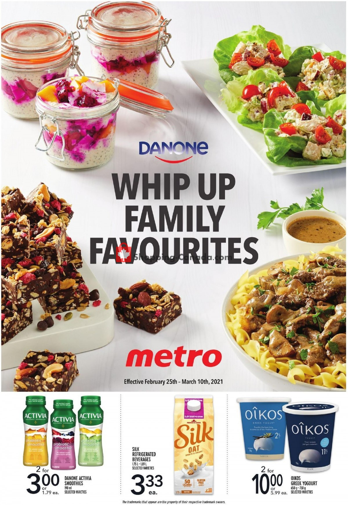 Flyer Metro Canada - from Thursday February 25, 2021 to Wednesday March 10, 2021