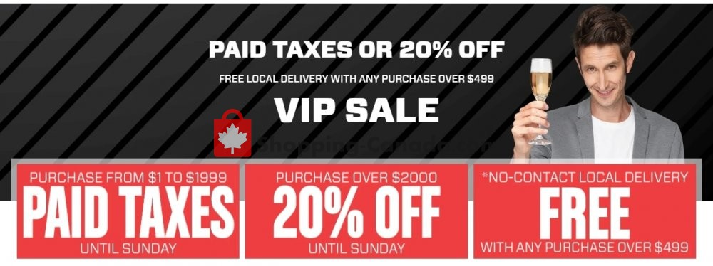 Flyer Meubles RD Canada - from Wednesday April 29, 2020 to Tuesday May 5, 2020