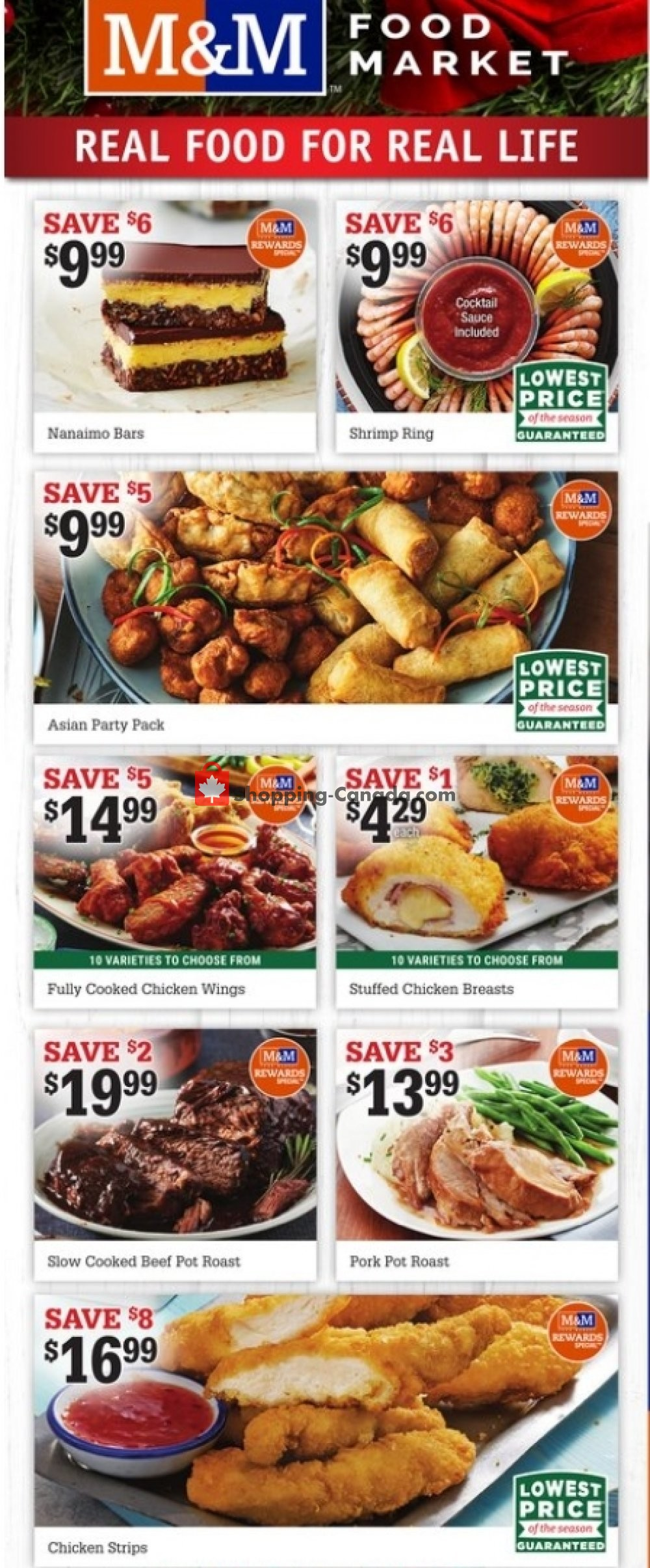 Flyer M&M Food Market Canada - from Thursday December 17, 2020 to Wednesday December 23, 2020