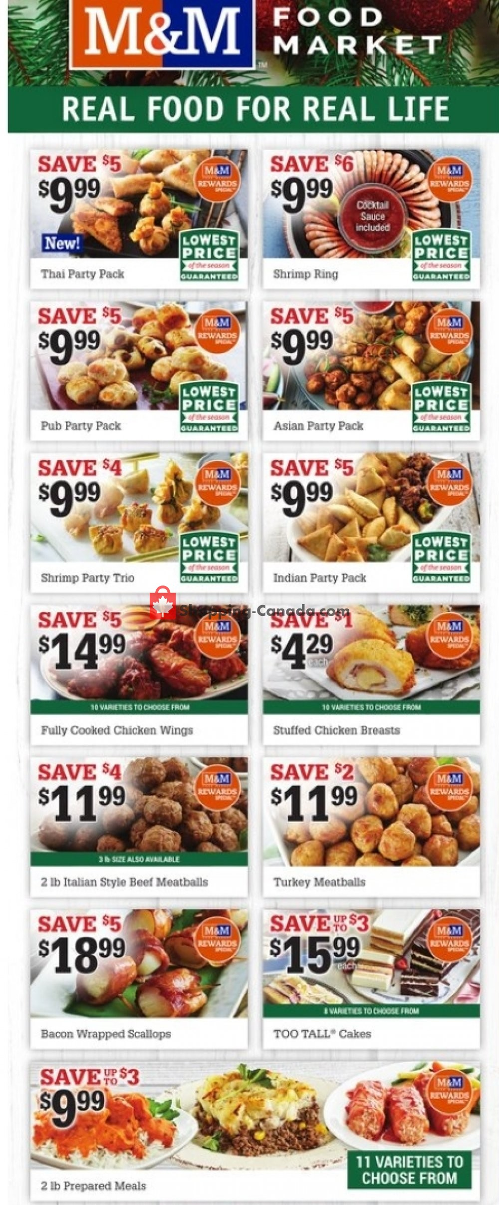 Flyer M&M Food Market Canada - from Thursday December 24, 2020 to Wednesday December 30, 2020