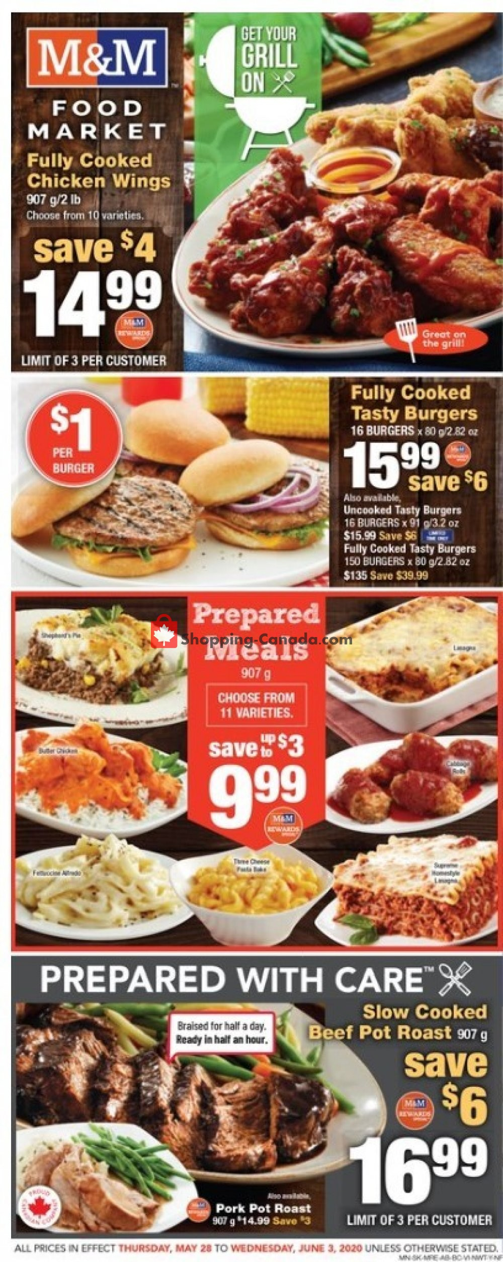 Flyer M&M Food Market Canada - from Thursday May 28, 2020 to Wednesday June 3, 2020