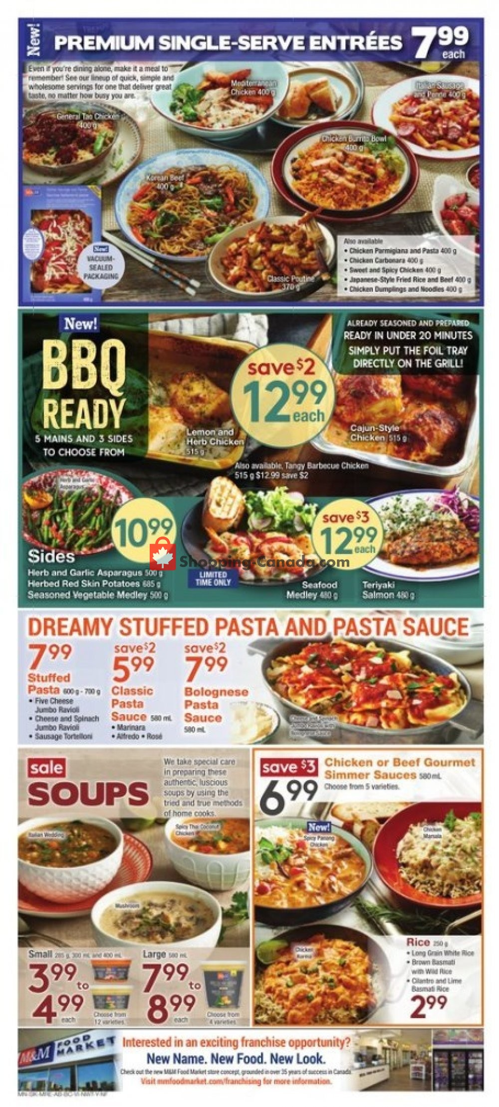 Flyer M&M Food Market Canada - from Thursday July 11, 2019 to Wednesday July 17, 2019