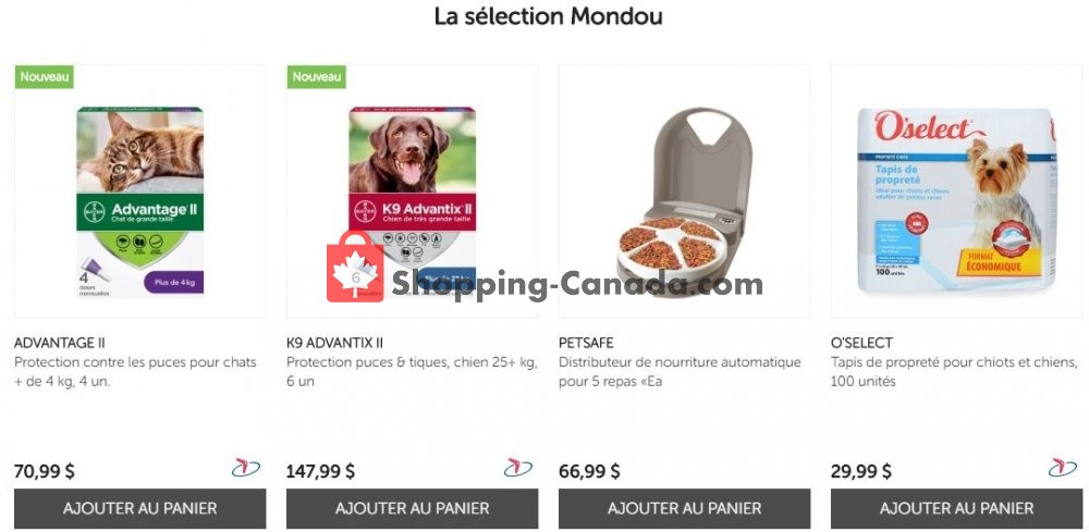 Flyer Mondou Canada - from Wednesday May 27, 2020 to Tuesday June 2, 2020