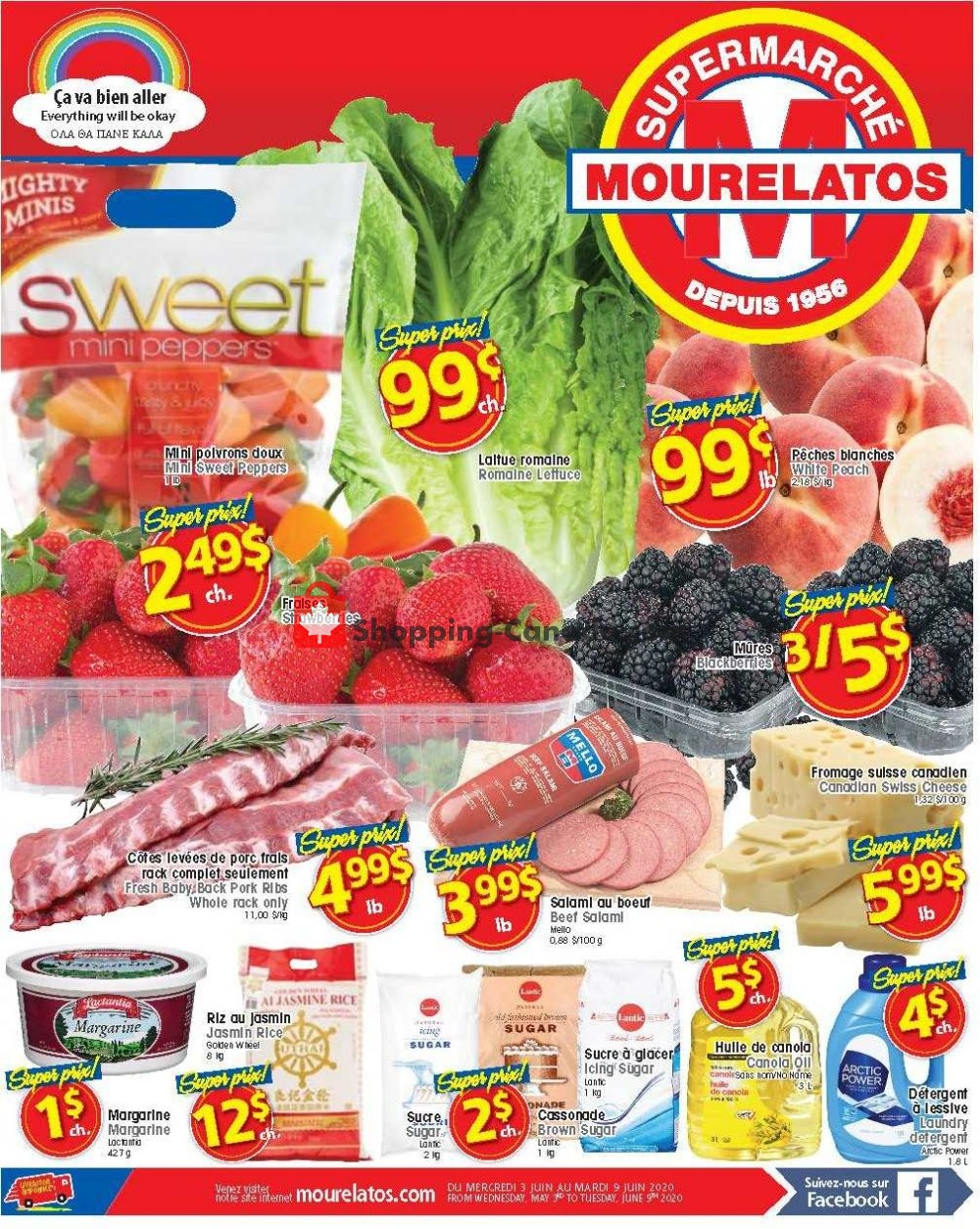 Flyer Mourelatos Canada - from Wednesday June 3, 2020 to Tuesday June 9, 2020