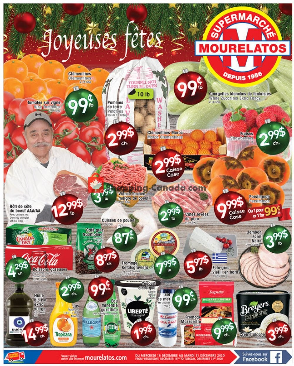 Flyer Mourelatos Canada - from Wednesday December 16, 2020 to Thursday December 31, 2020