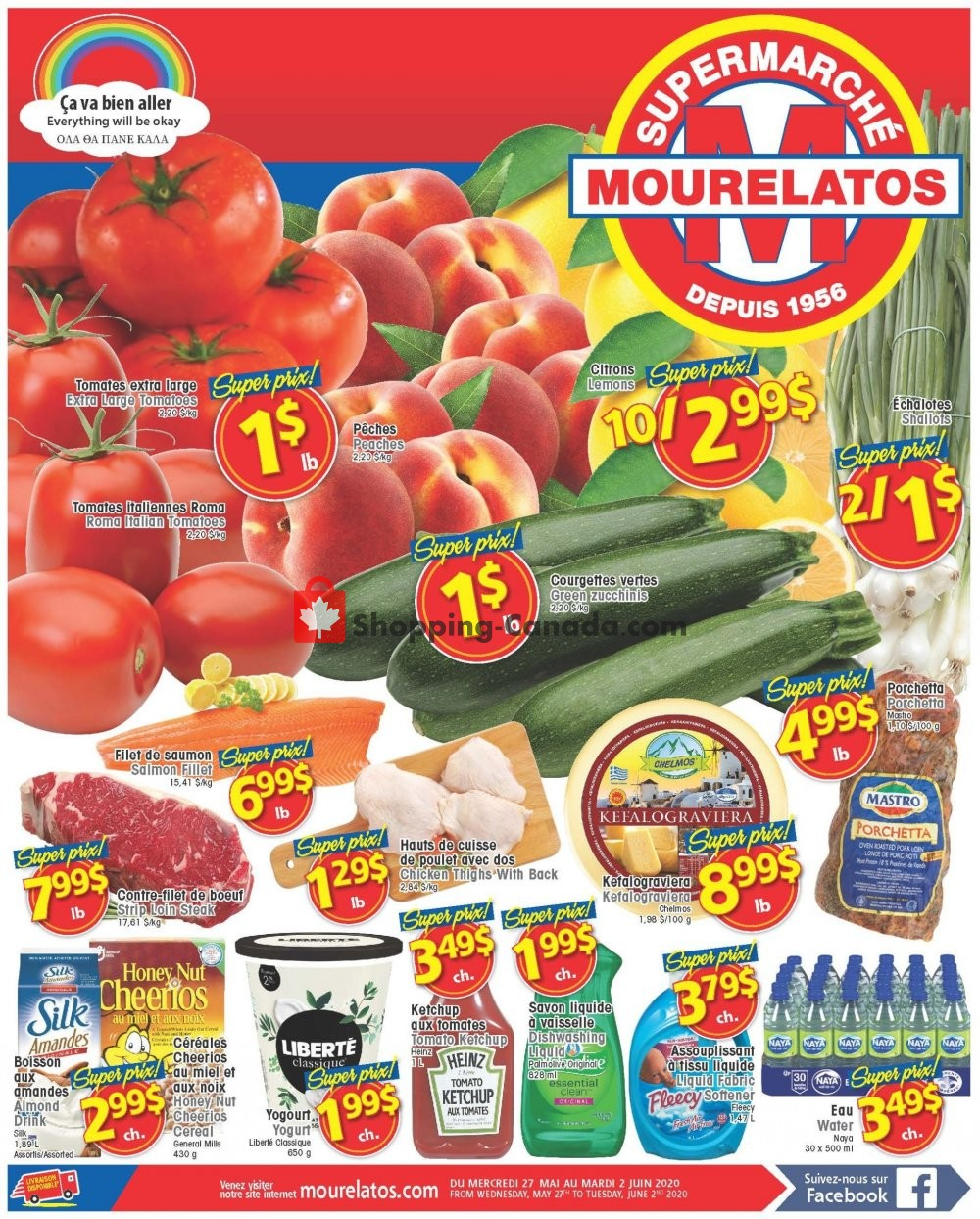 Flyer Mourelatos Canada - from Wednesday May 27, 2020 to Tuesday June 2, 2020
