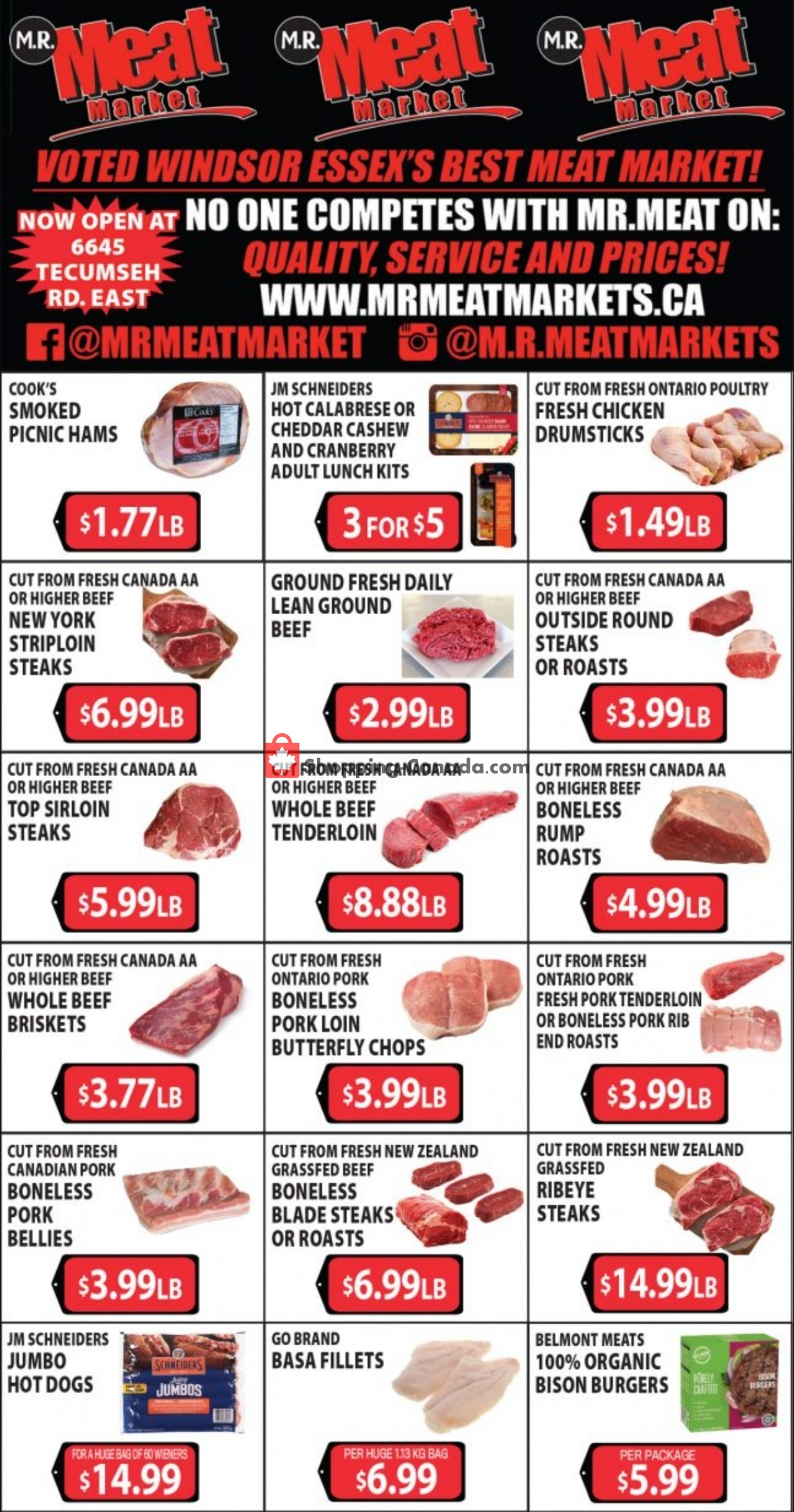 Flyer M.R. Meat Market Canada - from Saturday May 1, 2021 to Saturday May 8, 2021