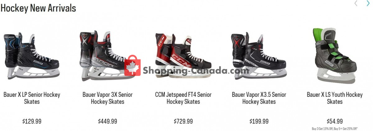 Flyer National Sports Canada - from Thursday September 9, 2021 to Wednesday September 15, 2021