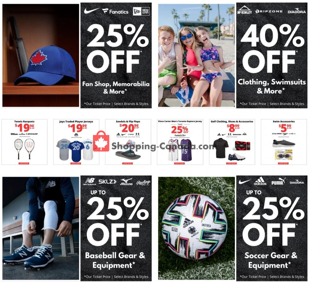 Flyer National Sports Canada - from Tuesday July 7, 2020 to Monday July 13, 2020