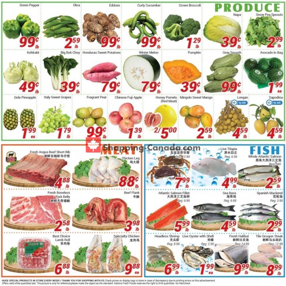 Flyer Nations Fresh Foods Canada - from Friday November 8, 2019 to Thursday November 14, 2019