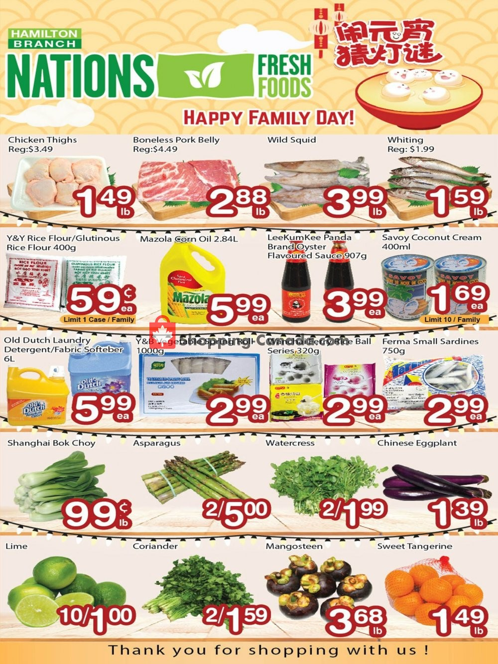 Flyer Nations Fresh Foods Canada - from Friday February 15, 2019 to Thursday February 21, 2019