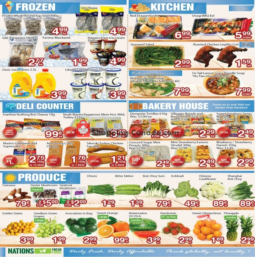 Flyer Nations Fresh Foods Canada - from Friday September 6, 2019 to Thursday September 12, 2019