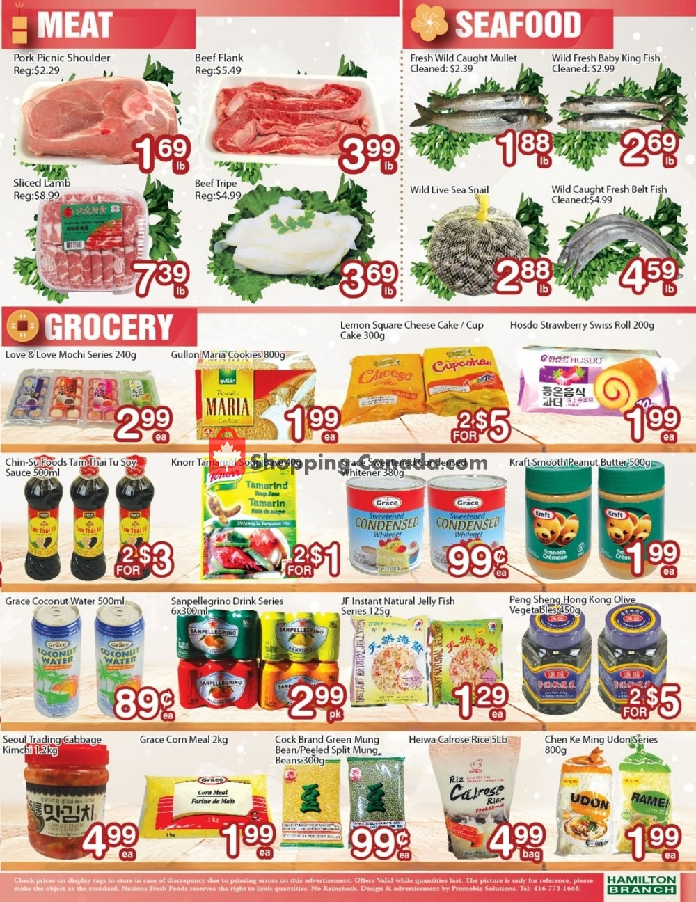 Flyer Nations Fresh Foods Canada - from Friday January 10, 2020 to Thursday January 16, 2020