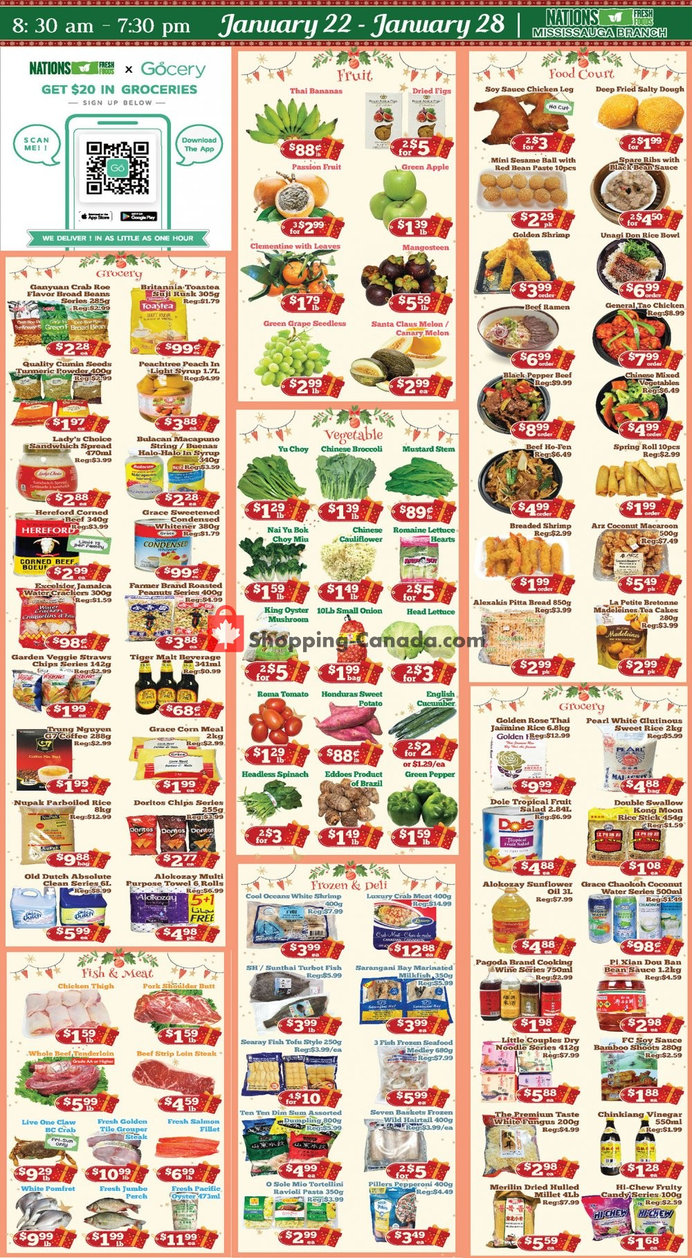 Flyer Nations Fresh Foods Canada - from Friday January 22, 2021 to Thursday January 28, 2021