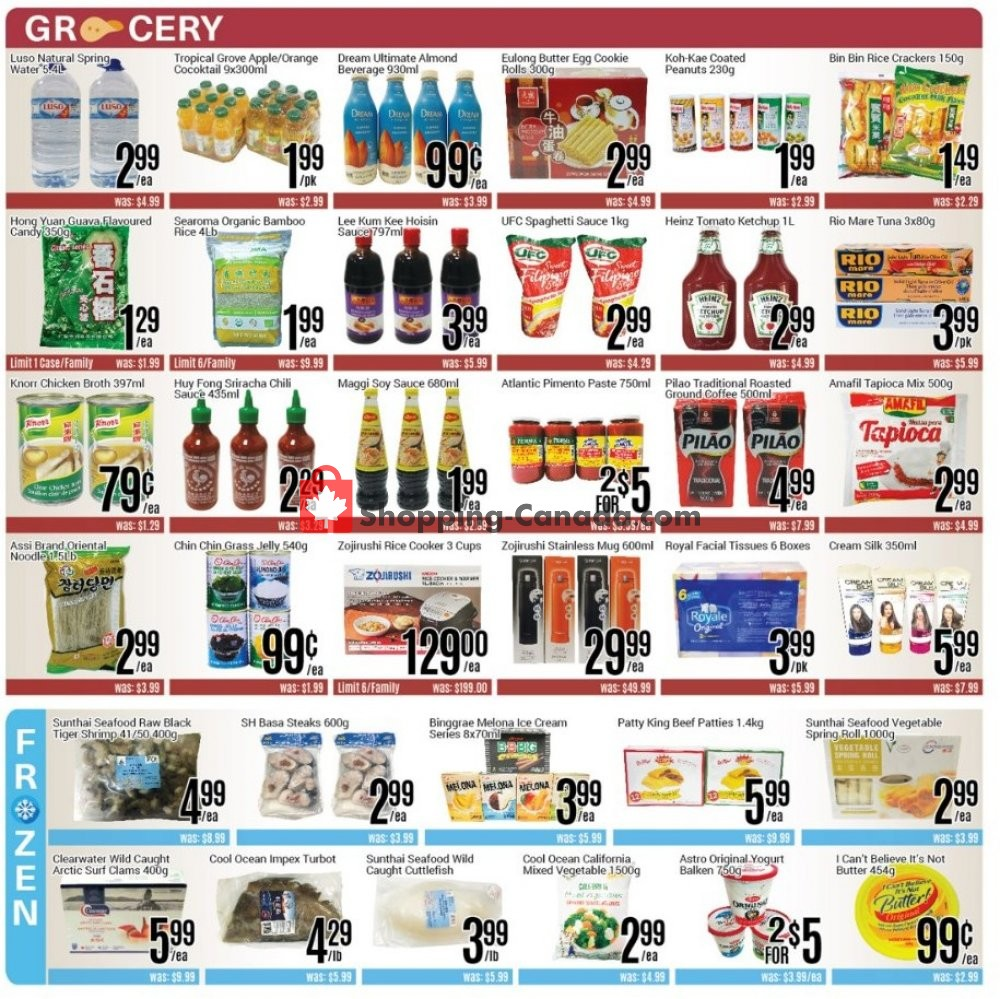 Flyer Nations Fresh Foods Canada - from Friday August 9, 2019 to Thursday August 15, 2019