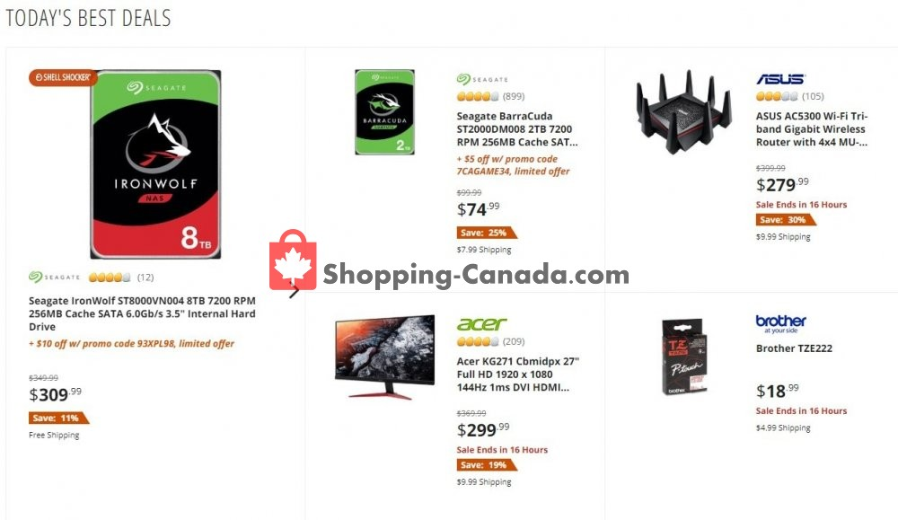 Flyer Newegg Canada - from Thursday July 9, 2020 to Thursday July 9, 2020