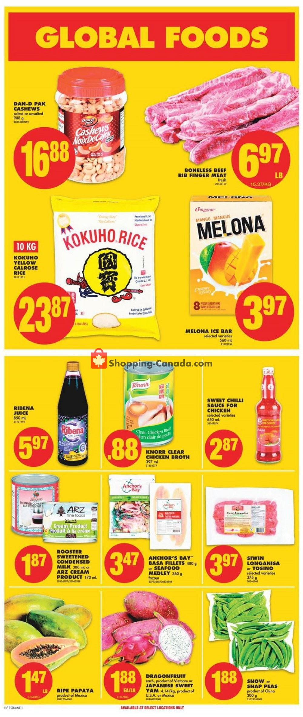 Flyer No Frills Canada - from Friday June 21, 2019 to Thursday June 27, 2019
