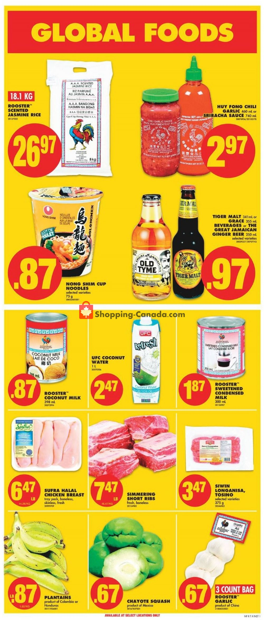 Flyer No Frills Canada - from Friday April 12, 2019 to Wednesday April 17, 2019