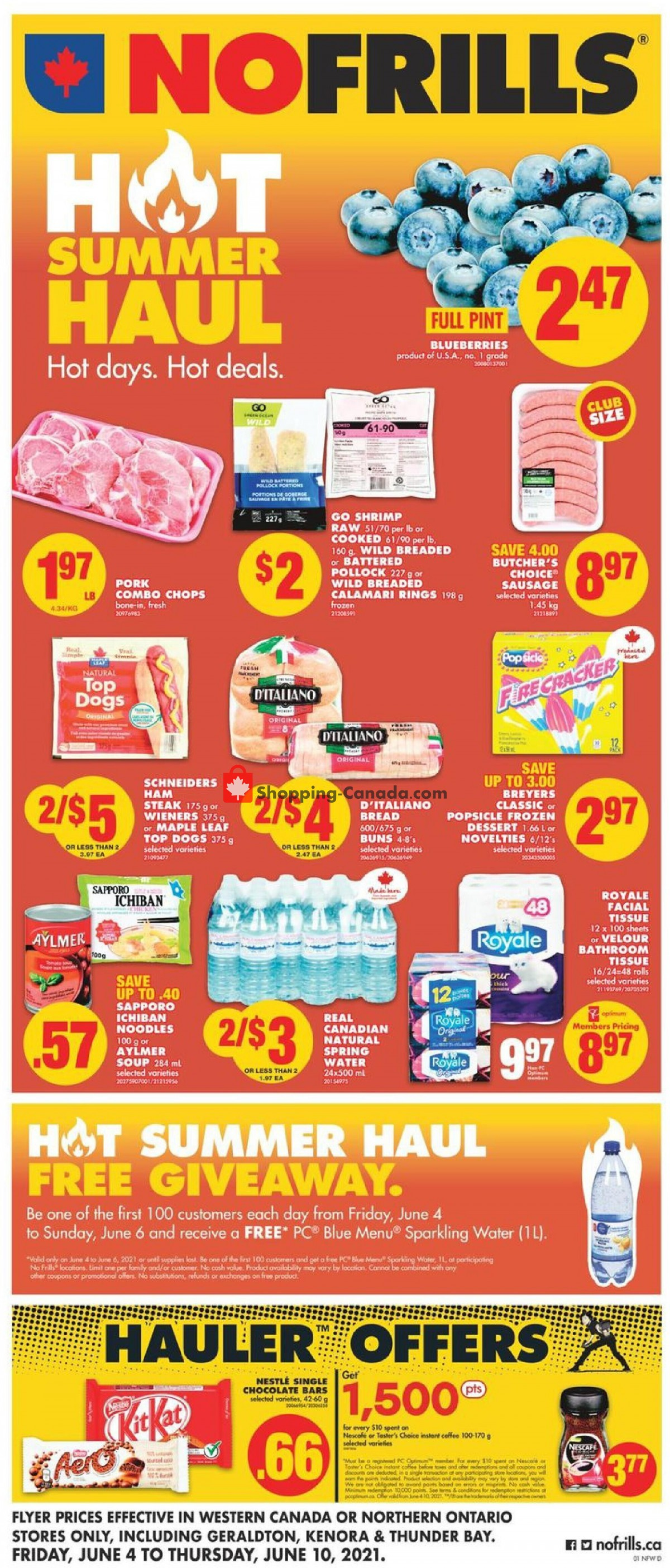Flyer No Frills Canada - from Friday June 4, 2021 to Thursday June 10, 2021
