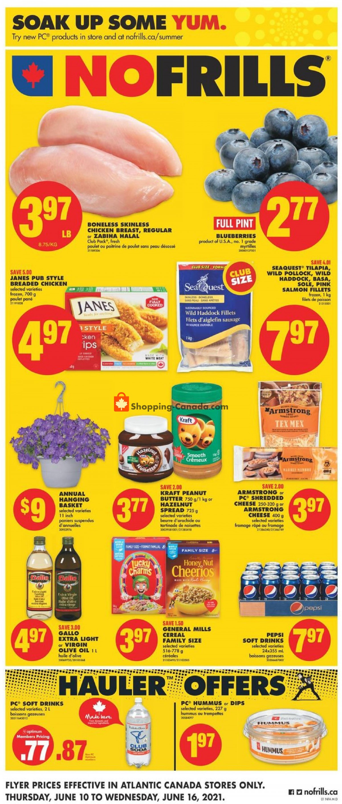 Flyer No Frills Canada - from Thursday June 10, 2021 to Wednesday June 16, 2021