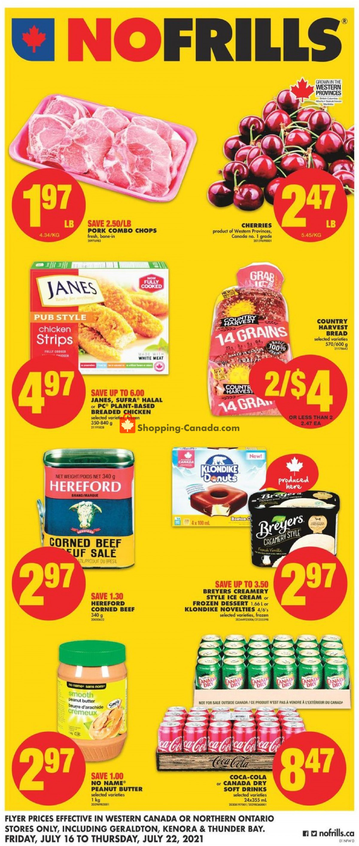 Flyer No Frills Canada - from Friday July 16, 2021 to Thursday July 22, 2021