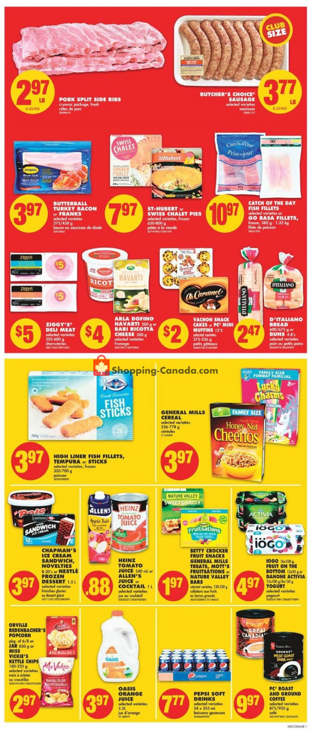 Flyer No Frills Canada - from Thursday January 16, 2020 to Wednesday January 22, 2020
