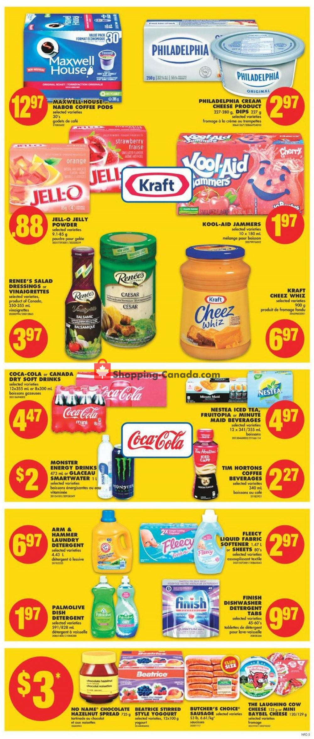 Flyer No Frills Canada - from Thursday July 11, 2019 to Wednesday July 17, 2019