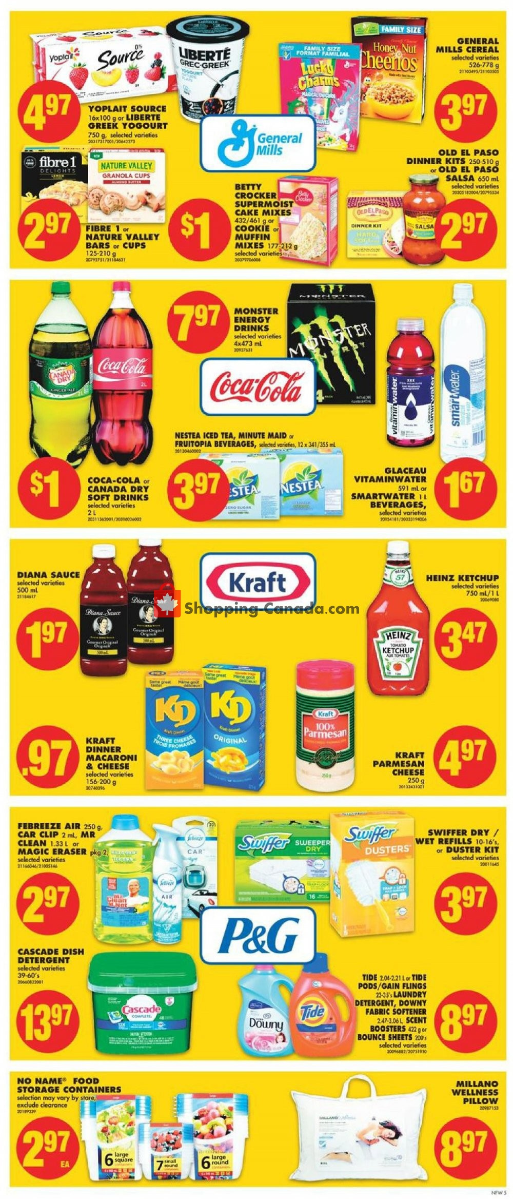 Flyer No Frills Canada - from Friday August 9, 2019 to Thursday August 15, 2019