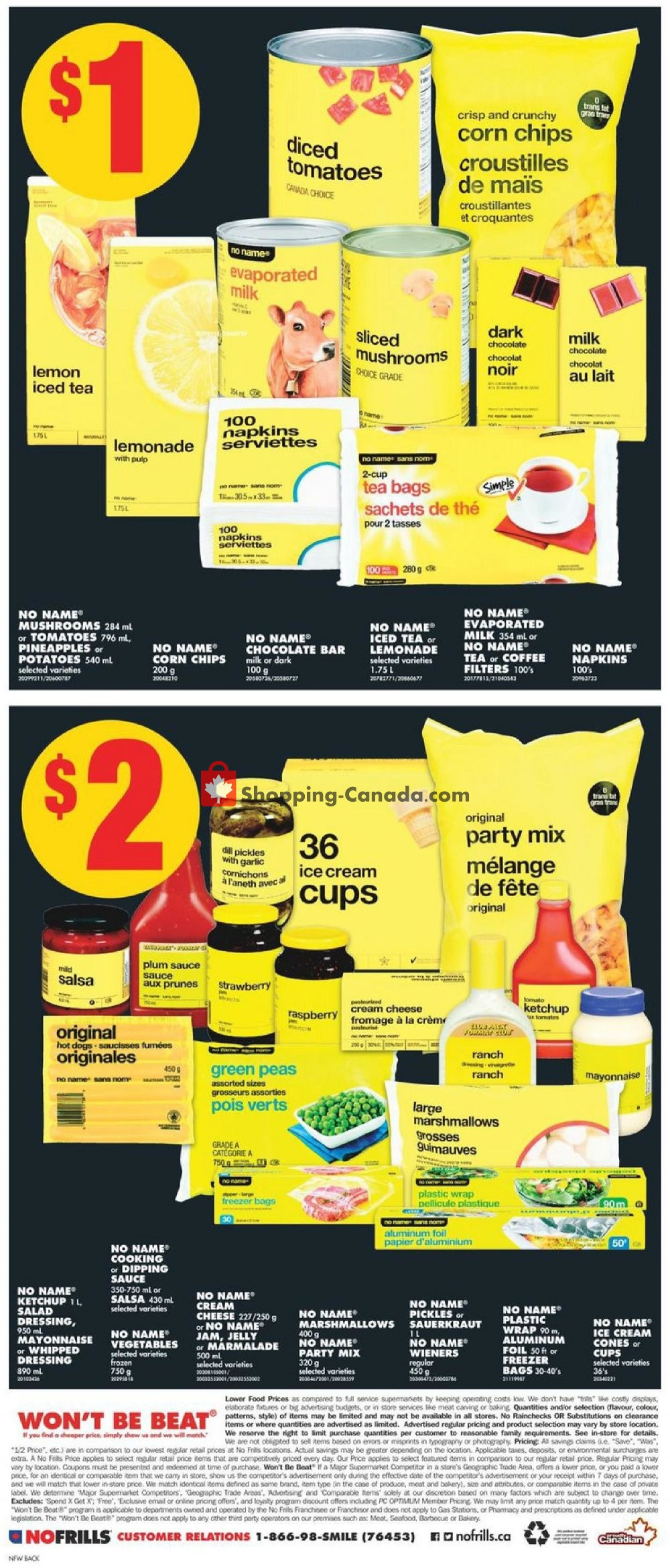 Flyer No Frills Canada - from Friday July 12, 2019 to Thursday July 18, 2019
