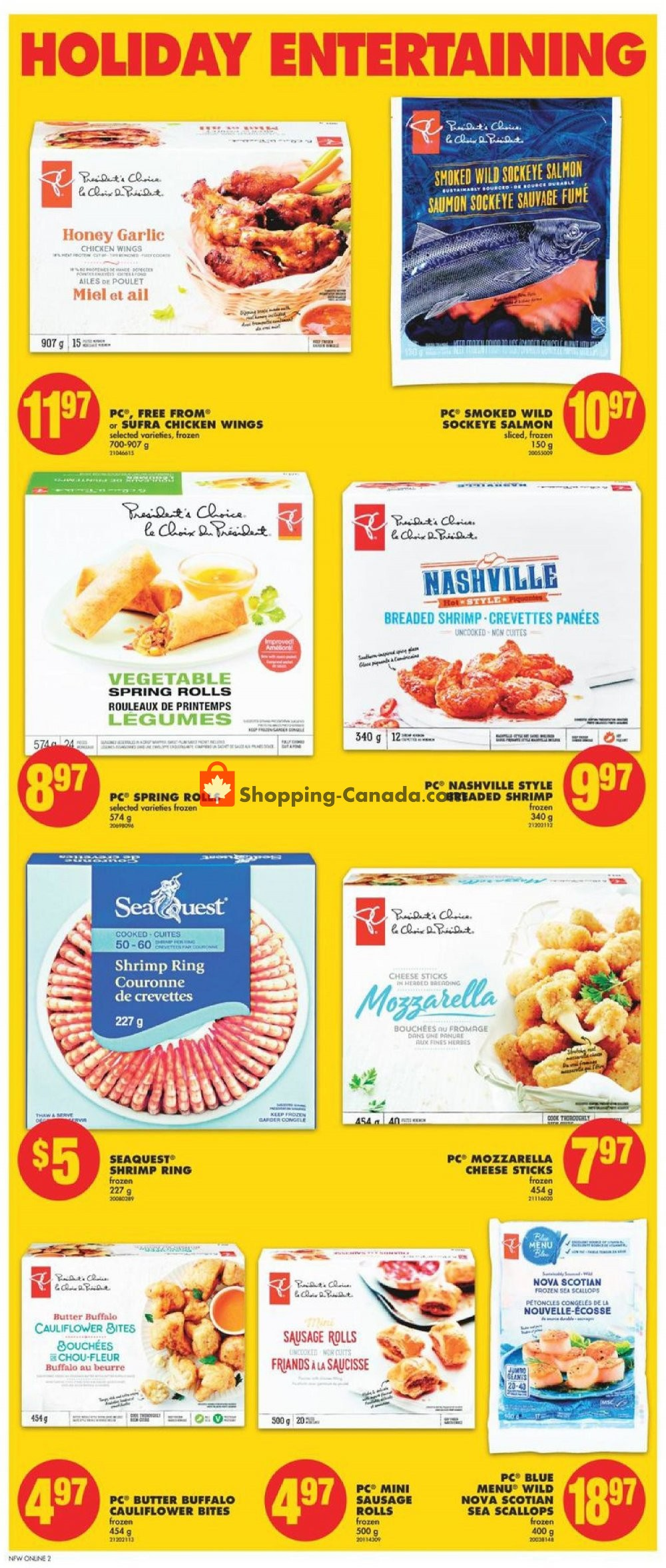 Flyer No Frills Canada - from Friday November 8, 2019 to Thursday November 14, 2019