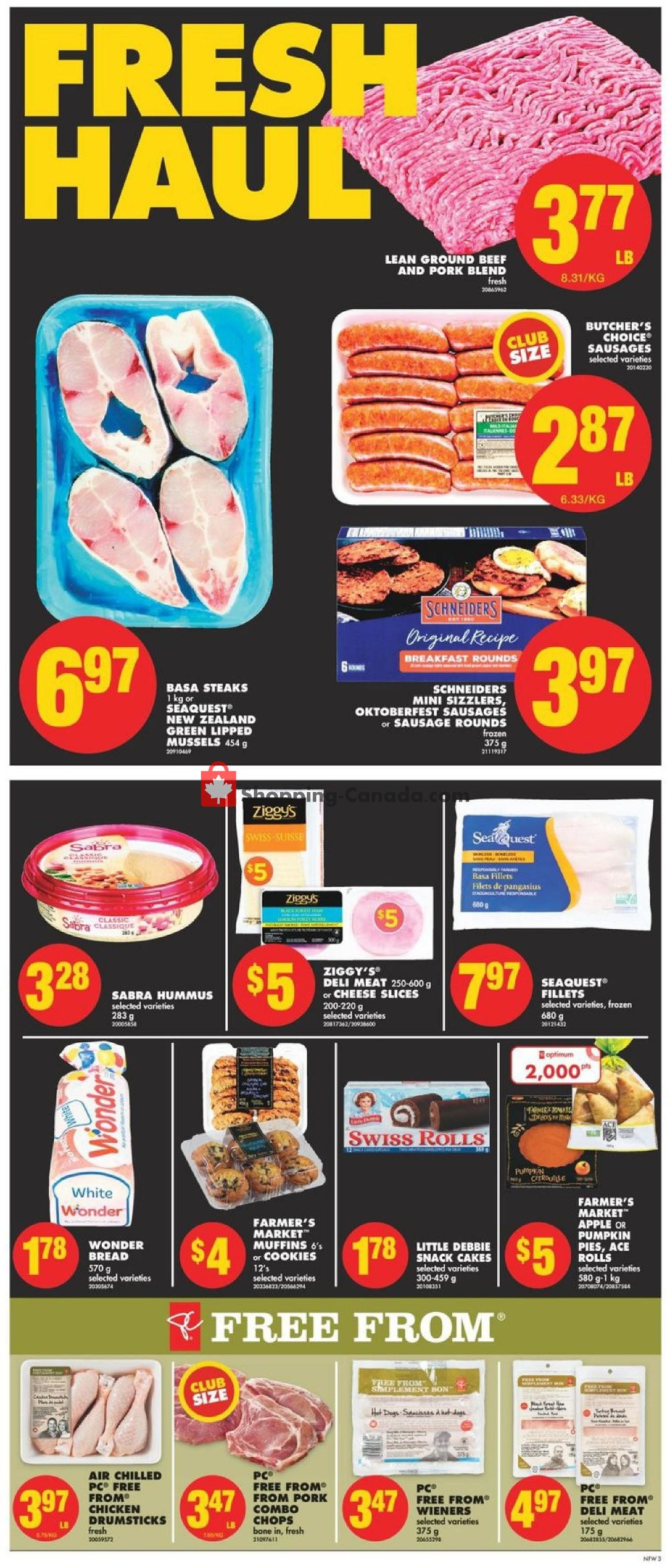 Flyer No Frills Canada - from Friday September 6, 2019 to Thursday September 12, 2019