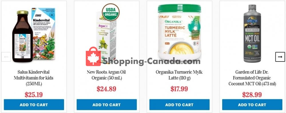 Flyer Noah's Natural Foods Canada - from Thursday October 15, 2020 to Wednesday October 21, 2020