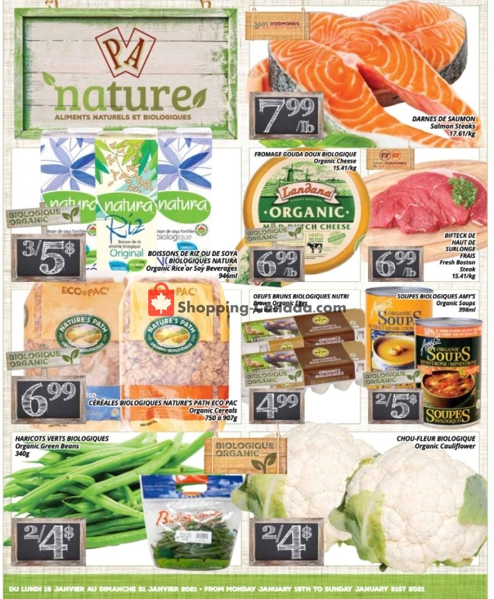 Flyer PA Nature Canada - from Monday January 18, 2021 to Sunday January 31, 2021