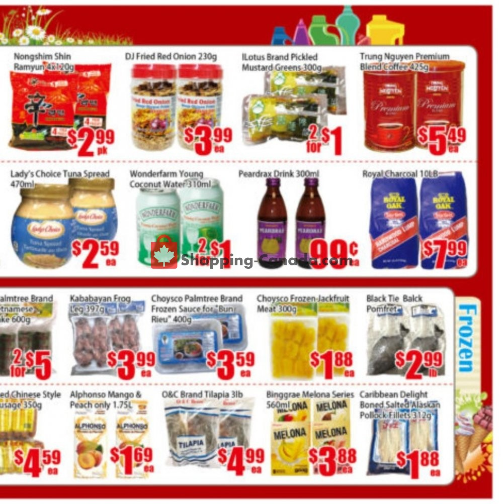 Flyer Pacific Fresh Food Market Canada - from Friday July 19, 2019 to Thursday July 25, 2019