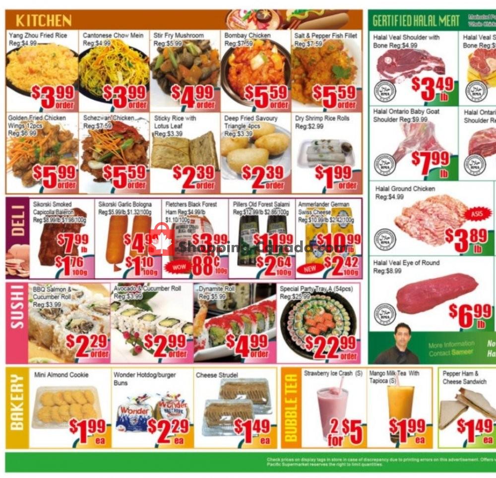 Flyer Pacific Fresh Food Market Canada - from Friday January 10, 2020 to Thursday January 16, 2020