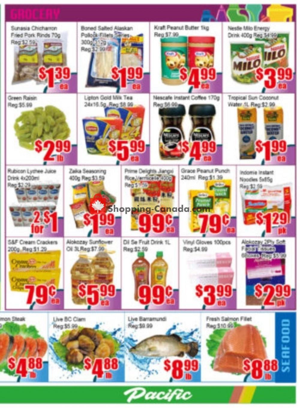 Flyer Pacific Fresh Food Market Canada - from Friday November 8, 2019 to Thursday November 14, 2019