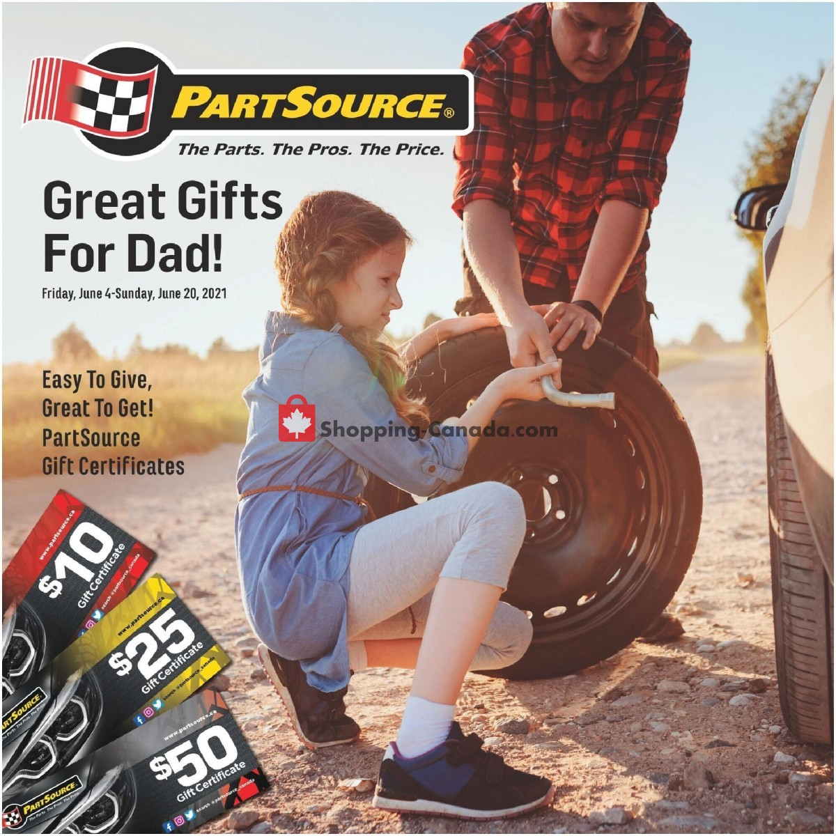 Flyer PartSource Canada - from Friday June 4, 2021 to Sunday June 20, 2021